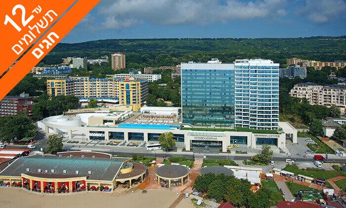 6 חופשה בוורנה - שופינג, קזינו ומלון International המפנק, כולל חגים