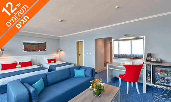 8 חופשה בוורנה - שופינג, קזינו ומלון International המפנק, כולל חגים