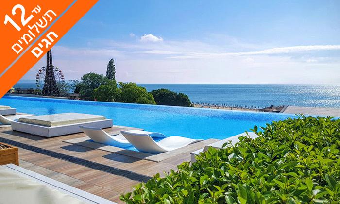 2 חופשה בוורנה - שופינג, קזינו ומלון International המפנק, כולל חגים