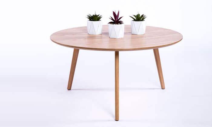 6 שולחן סלון עגול דגם 6807