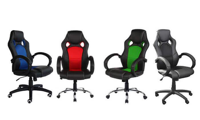 8 כיסא גיימינג אורתופדי מדגם C588
