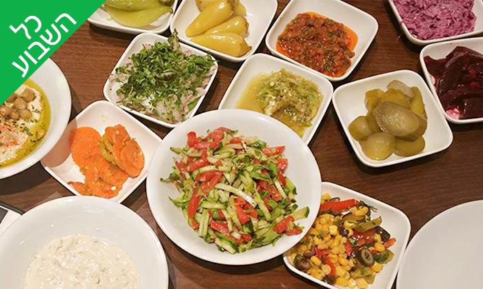 3 ארוחת בשרים זוגית במסעדת אבו חילווה, יפו