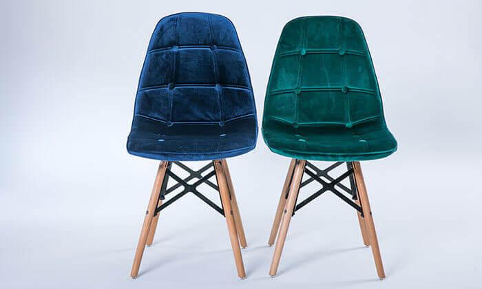 2 כיסא מרופד