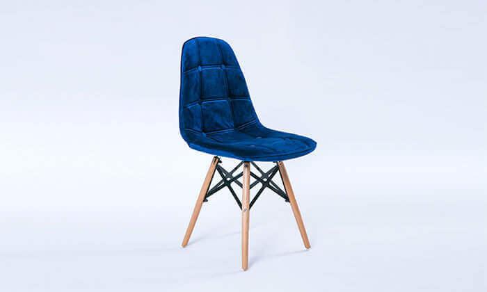 4 כיסא מרופד