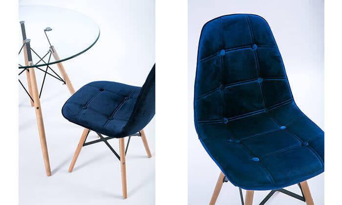 8 כיסא מרופד