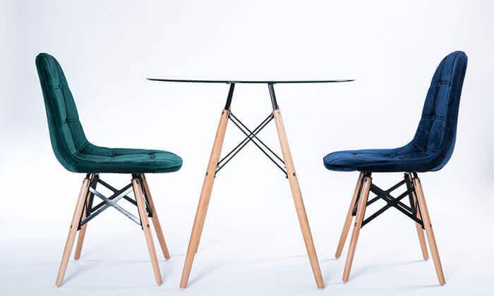 9 כיסא מרופד