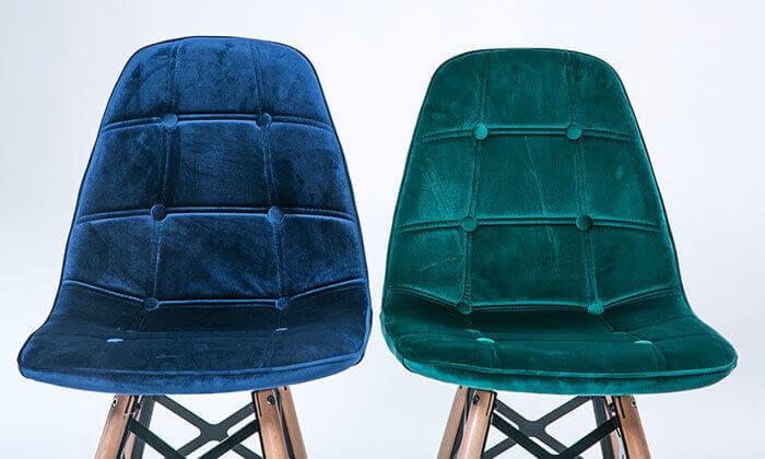 10 כיסא מרופד