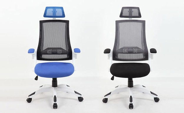 כיסא עם גב רשת אורטופדי
