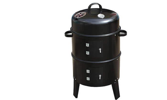 5 לזמן מוגבל: מעשנת פחמים ביתית