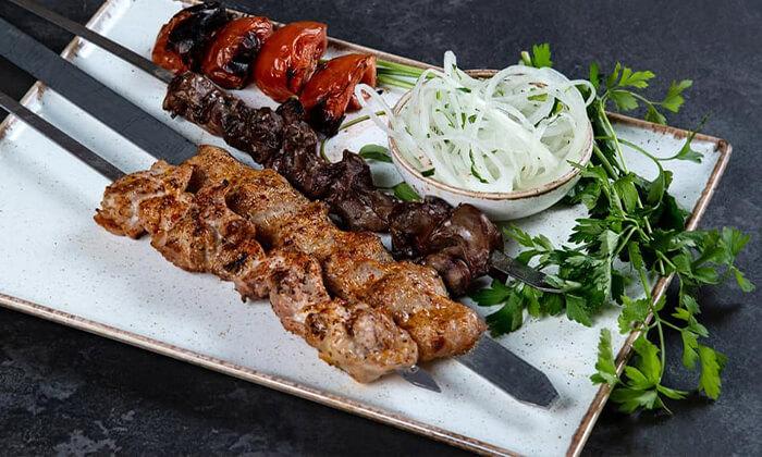 3 ארוחת בשרים זוגית במסעדת שיראז, ראשון לציון