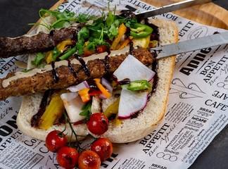 ארוחת בשרים זוגית במסעדת שיראז