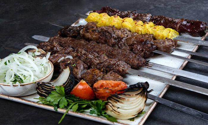 6 ארוחת בשרים זוגית במסעדת שיראז, ראשון לציון