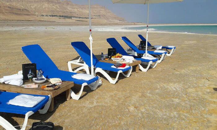 3 יום כיף ב-Sea of Spa חמי עין גדי, ים המלח