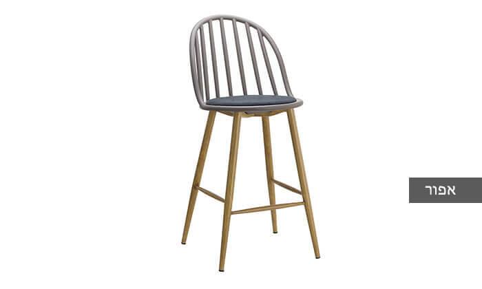 5 כיסא בר בעל משענת פסים