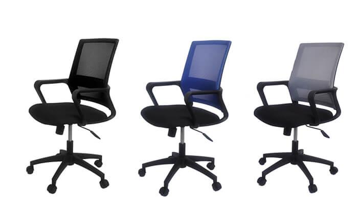 8 כסא אורתופדי למשרד