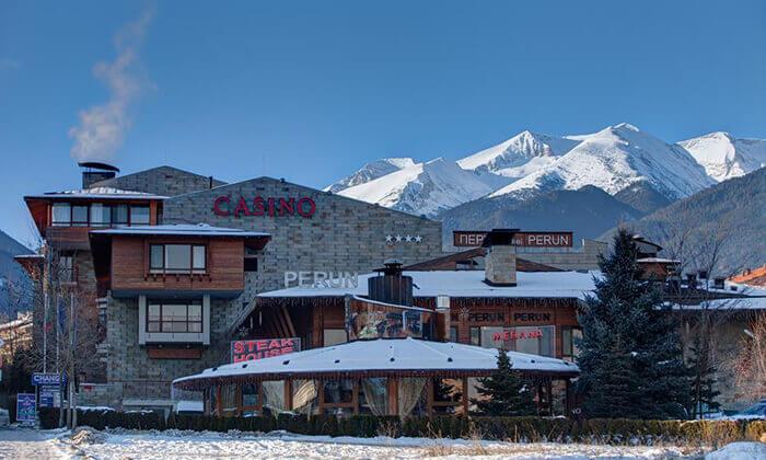 4 חבילת סקי בבנסקו - מלון Perun & Platinum Casino