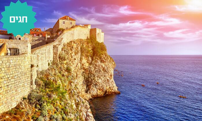 2 טיול מאורגן - קרואטיה, סלובניה, אוסטריה ואיטליה, כולל חגים