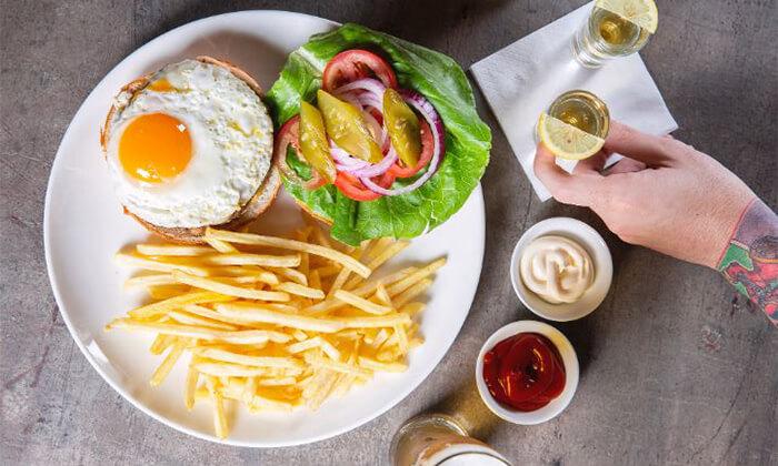 2 ארוחת המבורגר זוגית במסעדת רוטשילד 99, ראשון לציון