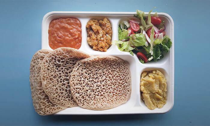 2 ארוחה במסעדת היילוגה - יהודה הלוי, תל אביב