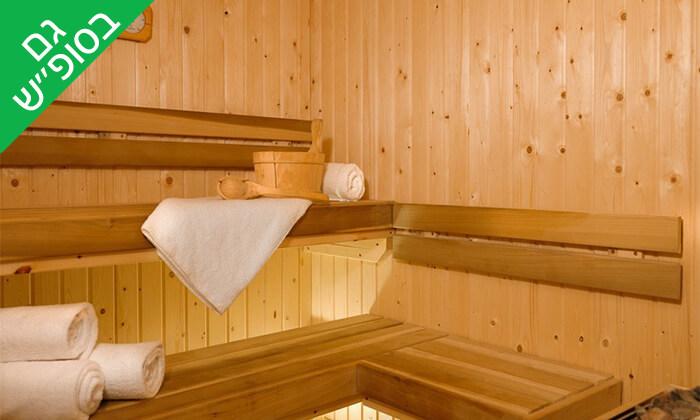 12 יום פינוק זוגי עם עיסוי ובריכה ב-Share Spa שר ספא מלון לאונרדו סוויט, בת ים