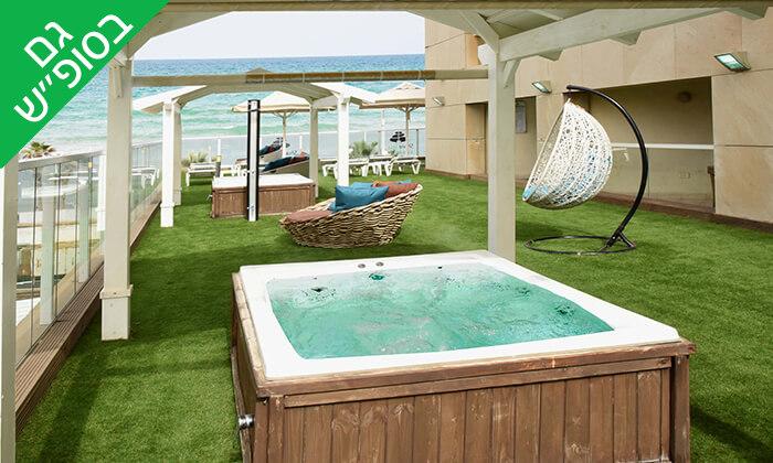 6 יום פינוק זוגי עם עיסוי ובריכה ב-Share Spa שר ספא מלון לאונרדו סוויט, בת ים