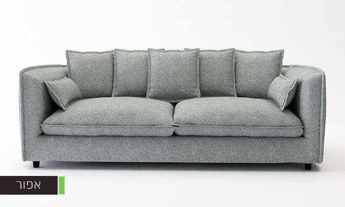 4 ספה תלת-מושבית ADAM
