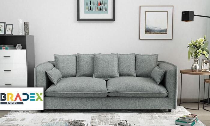 2 ספה תלת-מושבית ADAM
