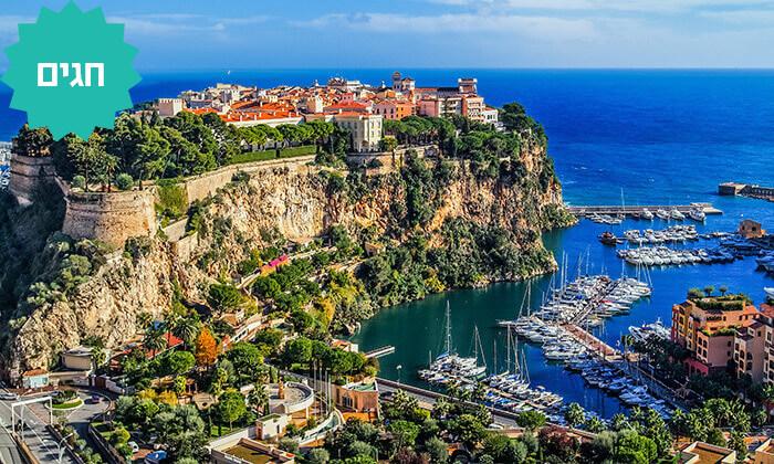 4 טיול מאורגן באלפים האיטלקים ומונקו, כולל חגים