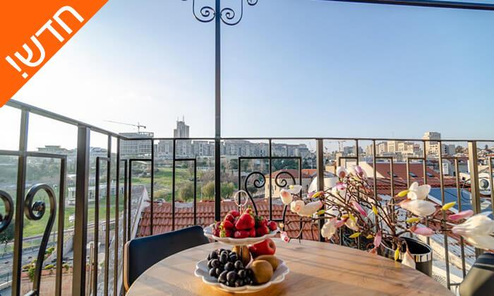 """6 מלון בוטיק Biazi - חבילה רומנטית לאירוע מיוחד, כולל סופ""""ש"""