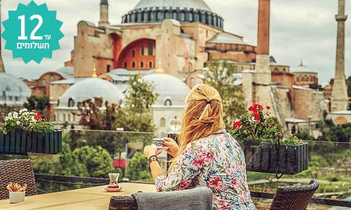 2 חבילת נופש באיסטנבול - מלון Gezi Bosphorus