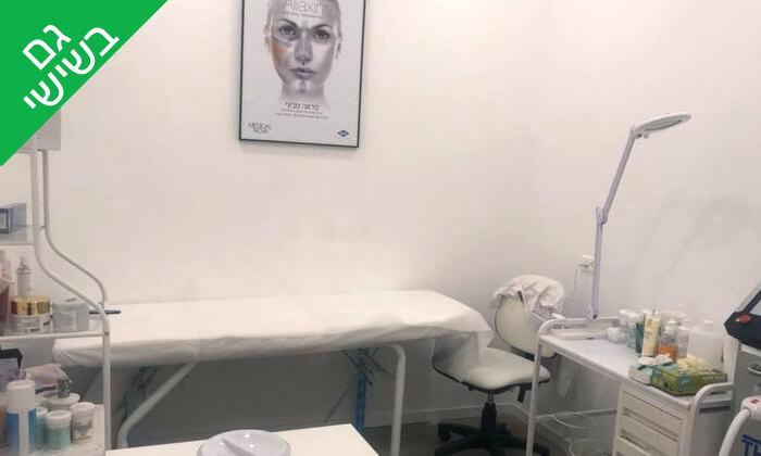 4 טיפולי פנים בקליניקת L'beauty, ראשון לציון