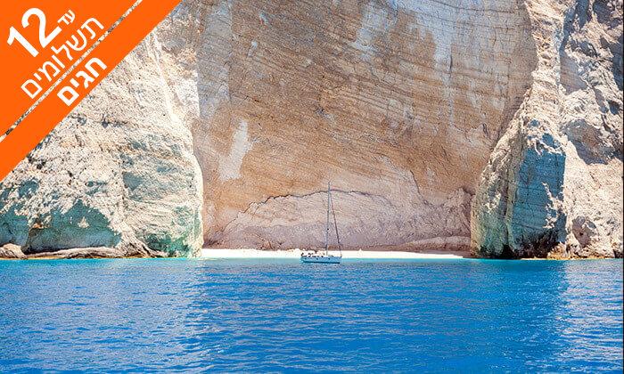 8 קפריסין 5 כוכבים - מלון Adams Beach, כולל חגים