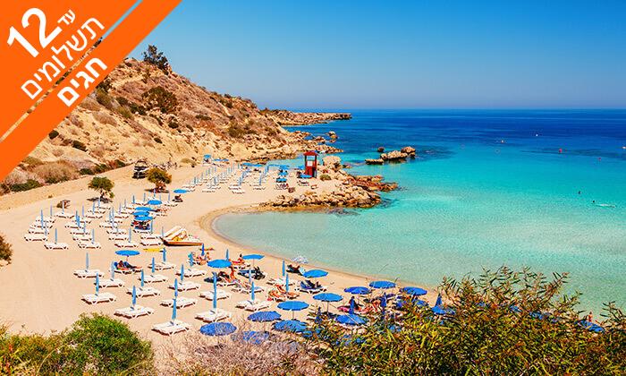 9 קפריסין 5 כוכבים - מלון Adams Beach, כולל חגים