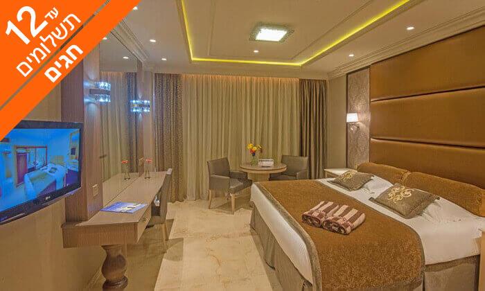 6 קפריסין 5 כוכבים - מלון Adams Beach, כולל חגים