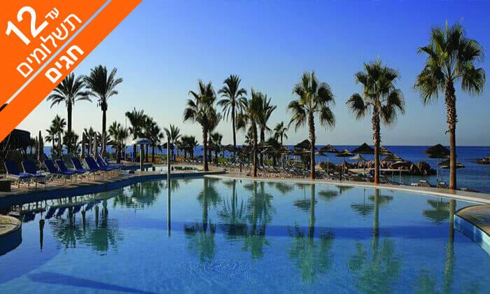 4 קפריסין 5 כוכבים - מלון Adams Beach, כולל חגים
