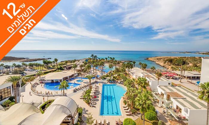 3 קפריסין 5 כוכבים - מלון Adams Beach, כולל חגים