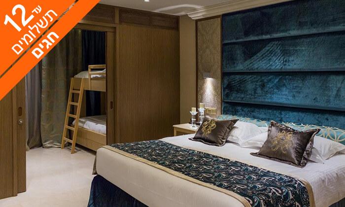 7 קפריסין 5 כוכבים - מלון Adams Beach, כולל חגים