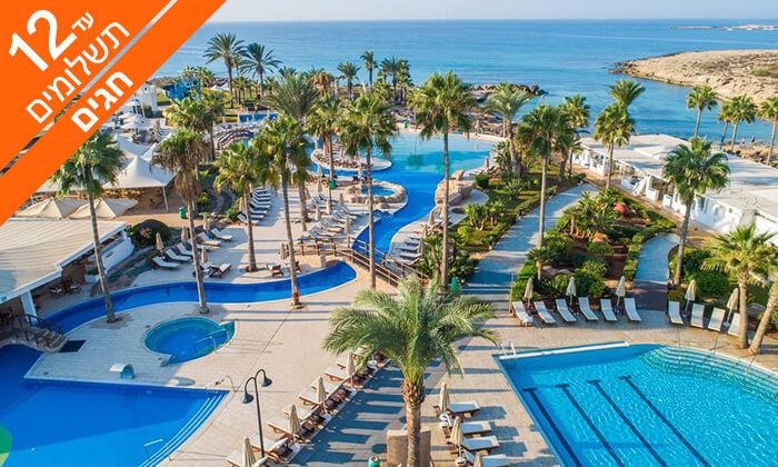 2 קפריסין 5 כוכבים - מלון Adams Beach, כולל חגים