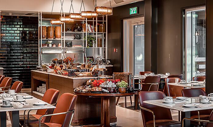 7 ארוחת בוקר-בופה לזוג במלון בוטיק טריפ, ירושלים