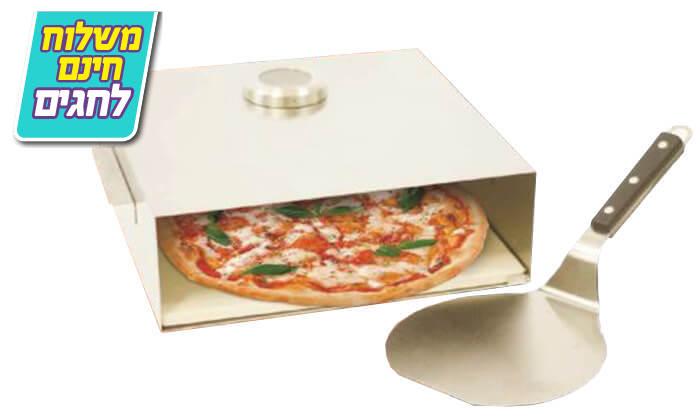 4 טאבון לאפיית פיצה - משלוח חינם!
