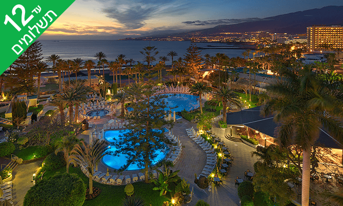 8 האי הספרדי טנריף - חופים, נופים, שופינג ושמש כל השנה