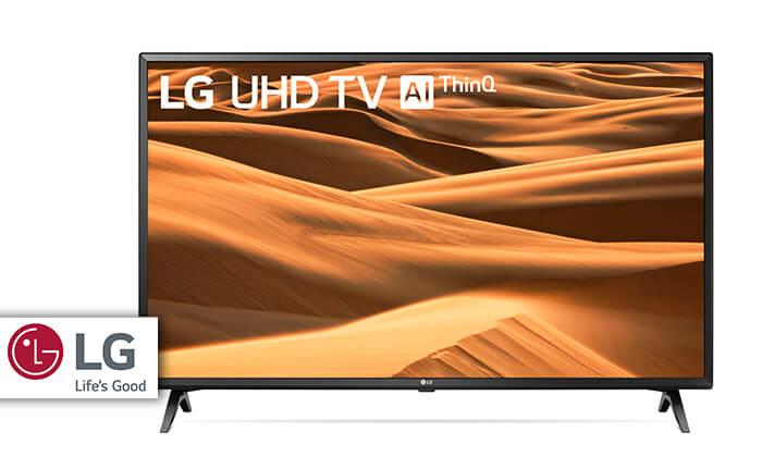 טלוויזיה LG חכמה 4K בגודל 65 אינץ' - משלוח חינם