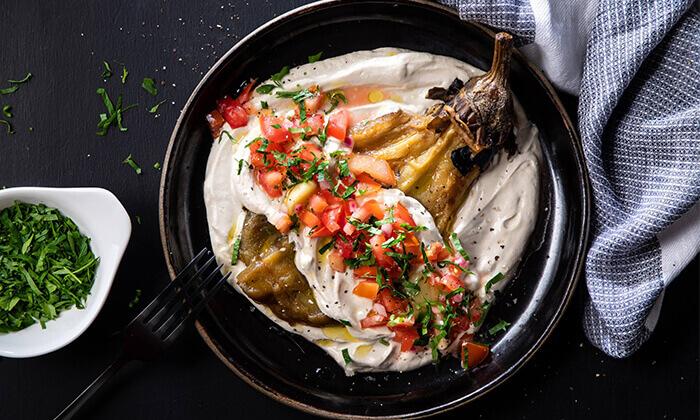 10 ארוחה זוגית צמחונית במסעדת באבא יאגה, תל אביב