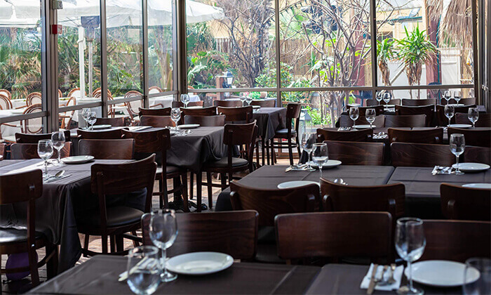 5 ארוחה זוגית צמחונית במסעדת באבא יאגה, תל אביב