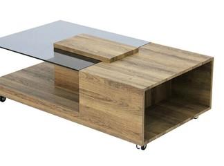 שולחן קפה על גלגלים