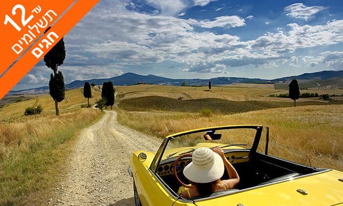 2 ראש השנה וסוכות בטוסקנה - חגים באווירה איטלקית