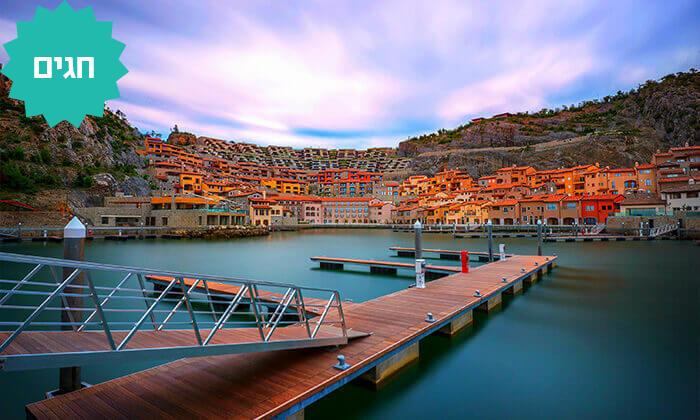 4 טיסות לטריאסט, צפון איטליה - כולל ראש השנה