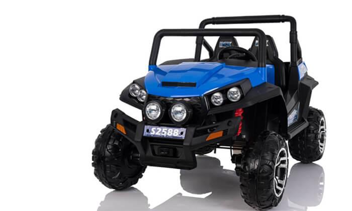 3 רכב ממונע 4X4 לילדים RZR 24V
