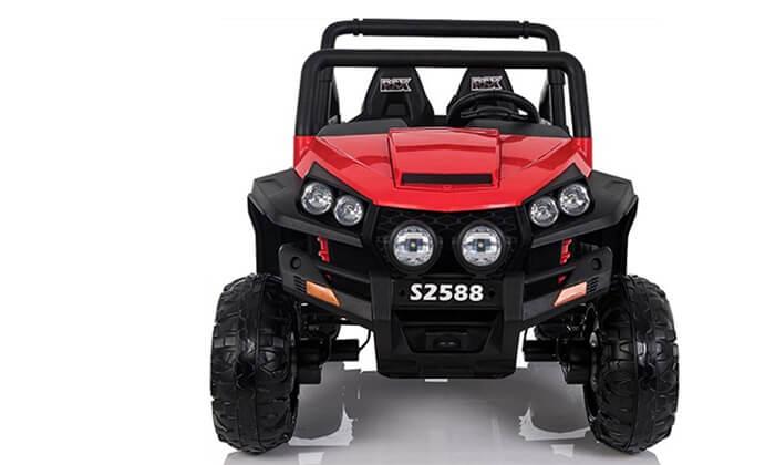 2 רכב ממונע 4X4 לילדים RZR 24V