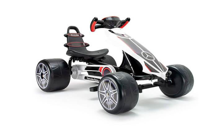 2 רכב קרטינג לילדים בעיצוב מרצדס